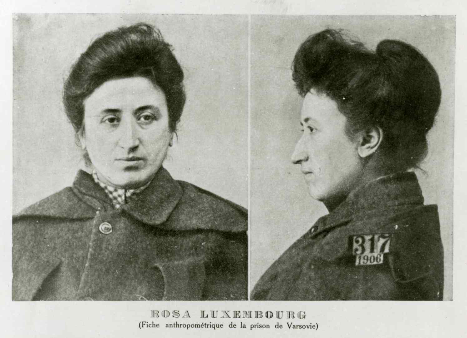 Em março de 1906, Rosa é presa em Varsóvia. Ameaçada de execução, reconquista a liberdade após o SPD pagar a fiança.
