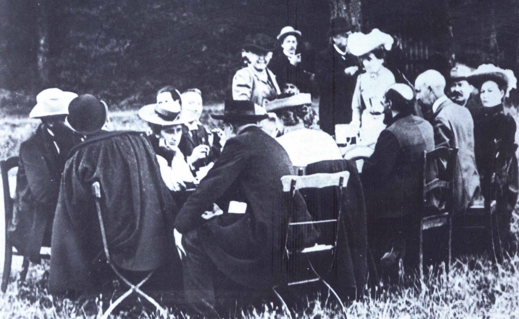 Reunião do SPD, em 1905