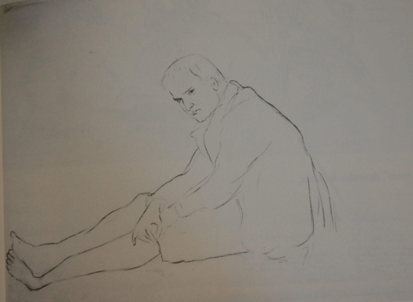 Costia Zetkin (1885-1980), retratado por Rosa Luxemburgo. Costia foi médico. filho de Clara Zetkin. Amante de Rosa  na juventude.