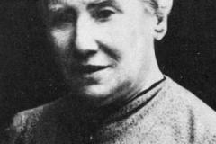 Mathilde Jacob (1873-1943): cuidava de um escritório de datilografia e cópias quando se tornou secretária de Rosa Luxemburgo.
