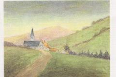 Rosa pintou na prisão de mulheres da Rua Barnim, onde ficou de julho a outubro de 1916.