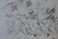 """Die Hölle"" [O inferno], 1919. Max Beckmann retrata o assassinato de Rosa."