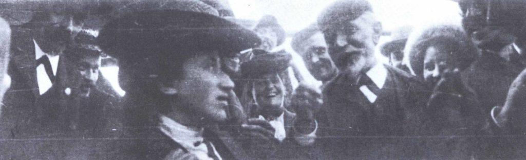 1904 - Rosa Luxemburgo e August Bebel - crédito Editora Dietz - Fundação Rosa Luxemburgo