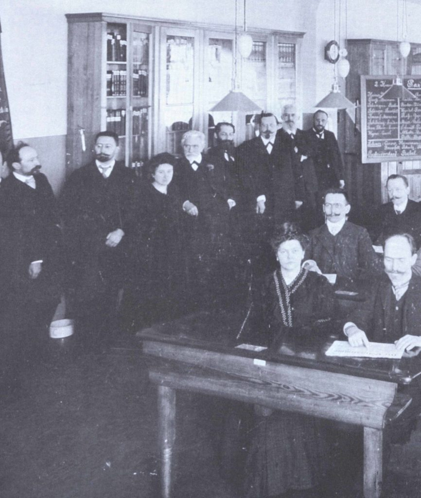 Foto: Escola SPD_1907_1908 / Editora Dietz – Fundação Rosa Luxemburgo