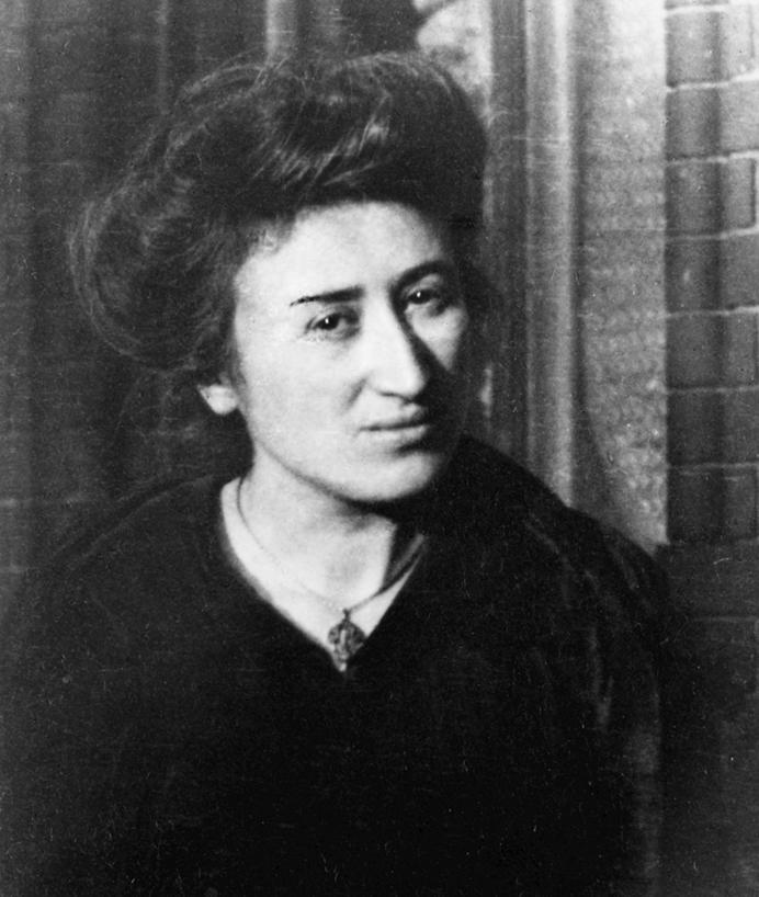Foto: Rosa Luxemburgo / Editora Dietz – Fundação Rosa Luxemburgo