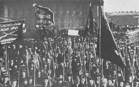 Foto: Revolução Russa/ Editora Dietz – Fundação Rosa Rosa
