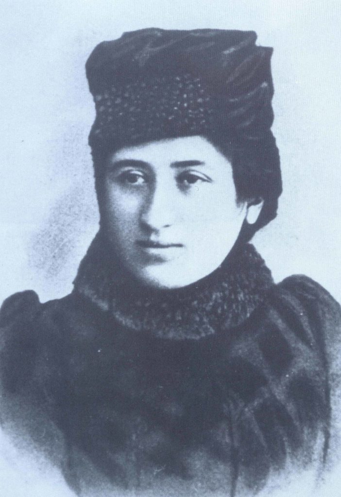 Foto: Rosa Luxemburgo/ Editora Dietz – Fundação Rosa Rosa