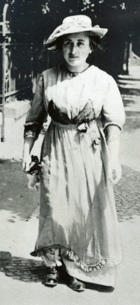1912 - Foto: Rosa Luxemburgo / Editora Dietz – Fundação Rosa Luxemburgo